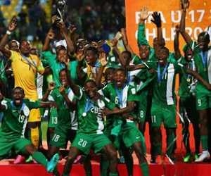 Victorious Golden Eaglets To Storm Nigeria Today